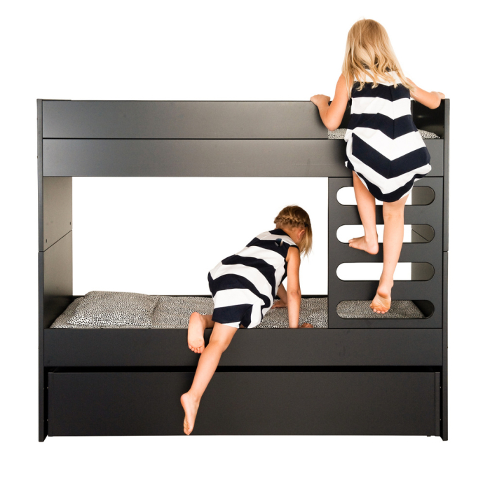 AVA Kids Bunk bed (black)