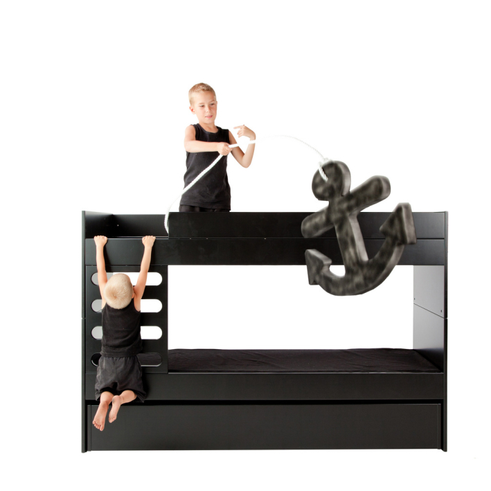 AVA Bunk bed (black)